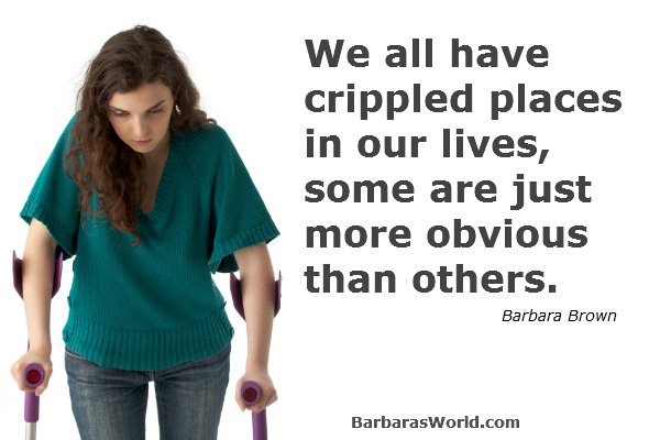 Where are Your Crippled Places?