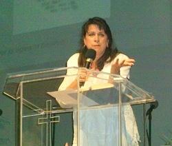 Barbara preaching