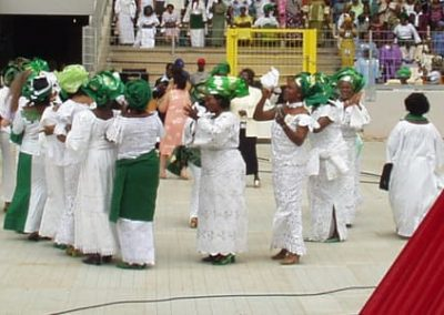 Nigeria dancers